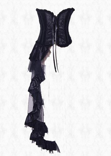 ebf7c30d7ee Asymmetrical Corset Style Burlesque Steampunk Gothic Dress Unique ...