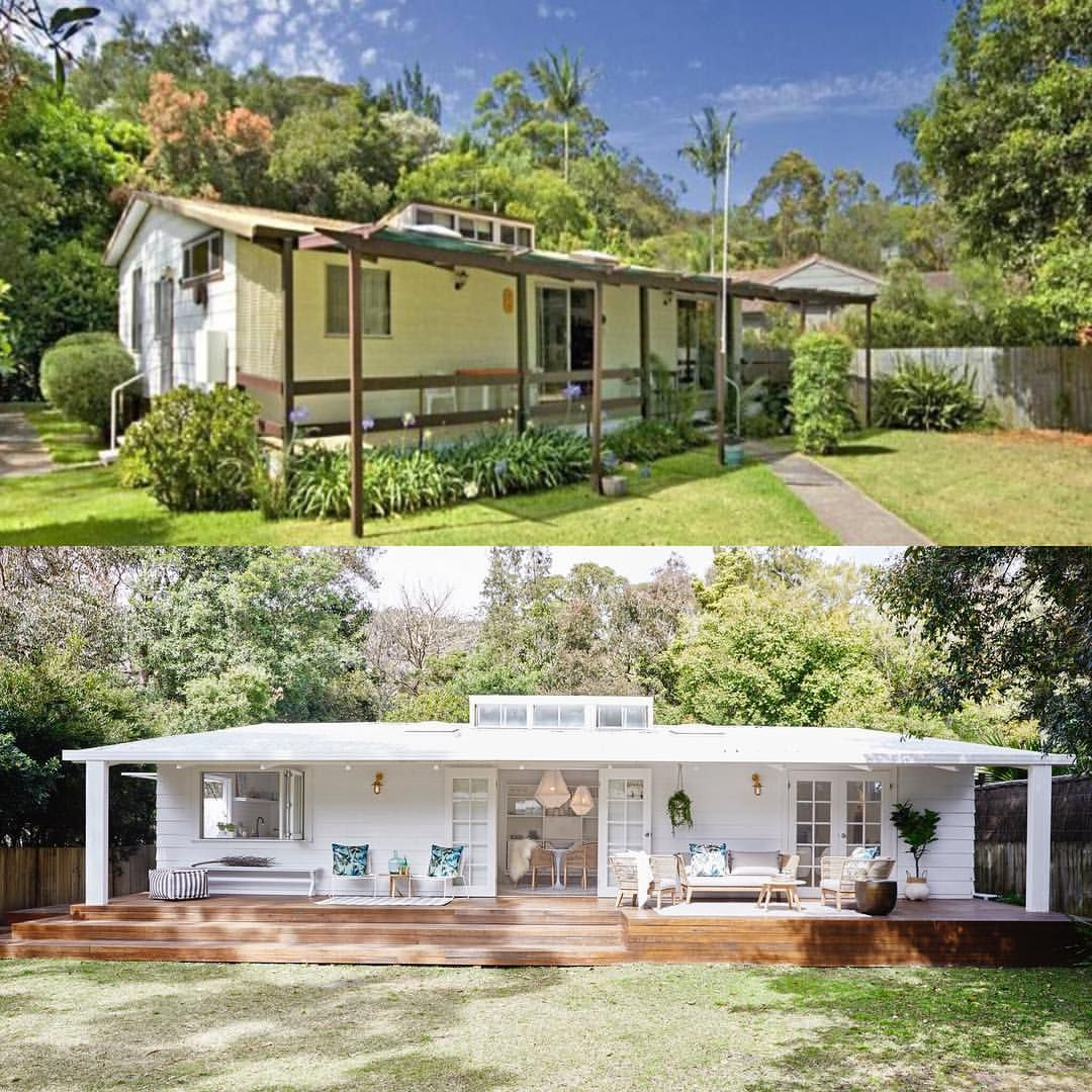 The Beach Shack 🌴 This Babe Of A Shack Was Renovated In