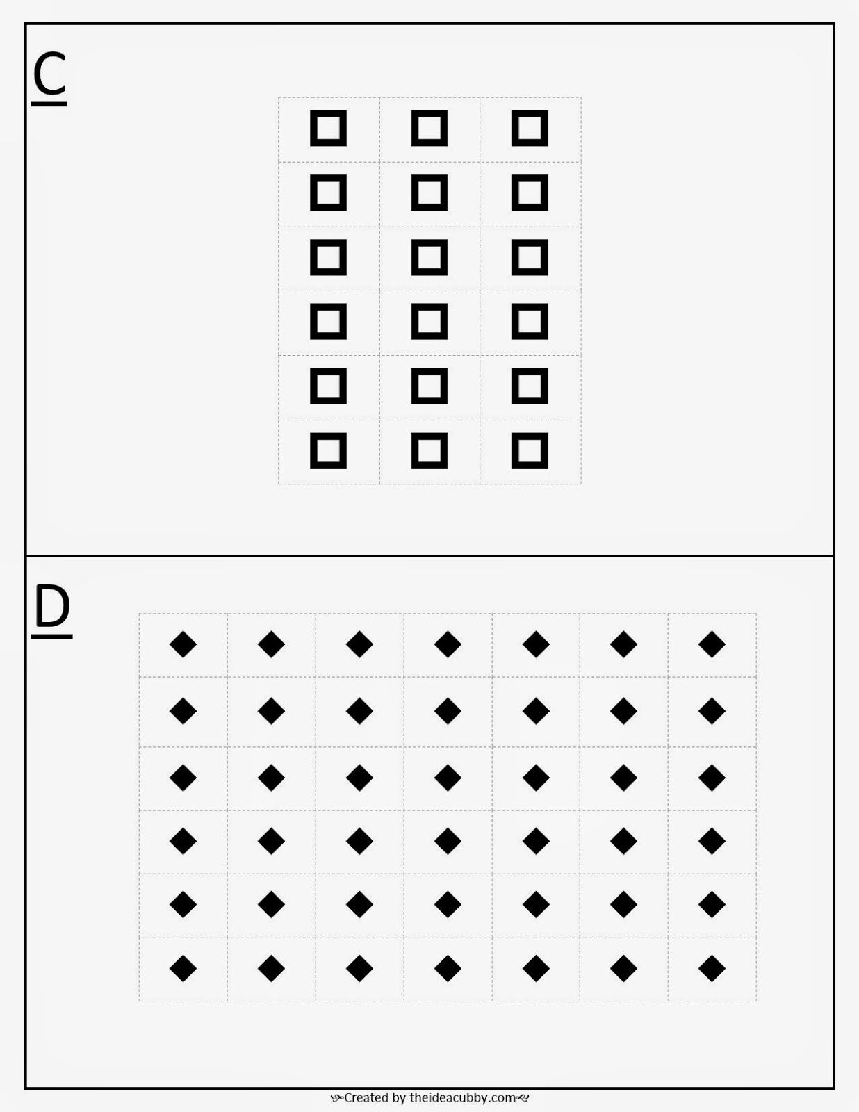Multiplication And Division Gallery Activity