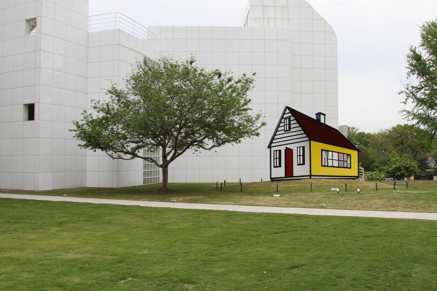 Roy Lichtenstein House III   The High Museum of Art   Pinterest ...