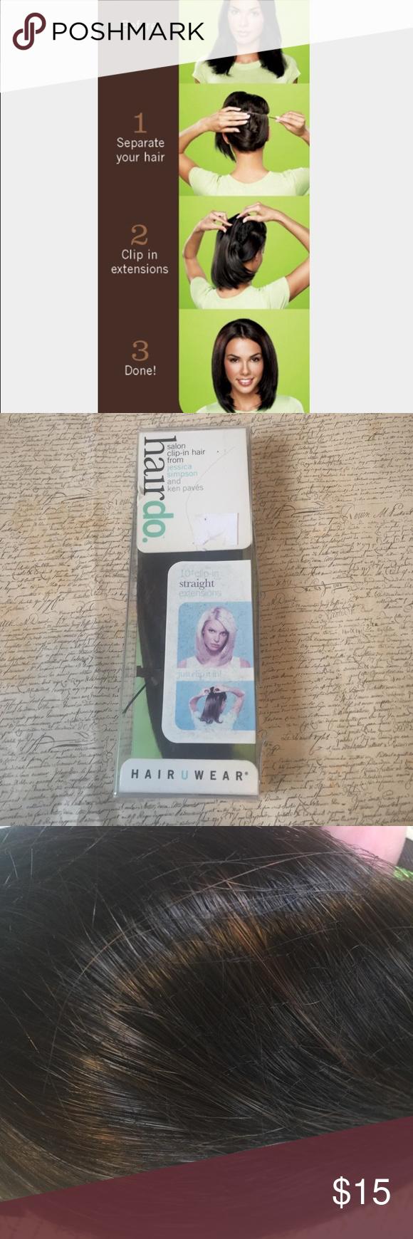 Nwt Jessica Simpson Hair Extensions Jessica Simpson Hair