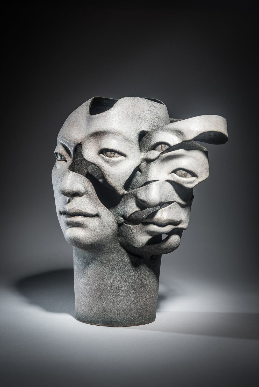 Haejin Lee In 2020 Ceramic Sculpture Figurative Music Artwork Emotional Art
