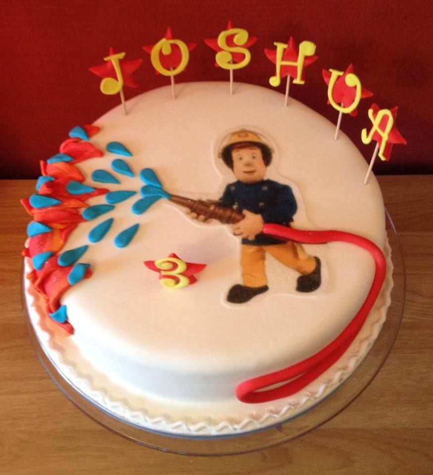 Fireman Sam Cake Mit Bildern Feuerwehrmann Geburtstag