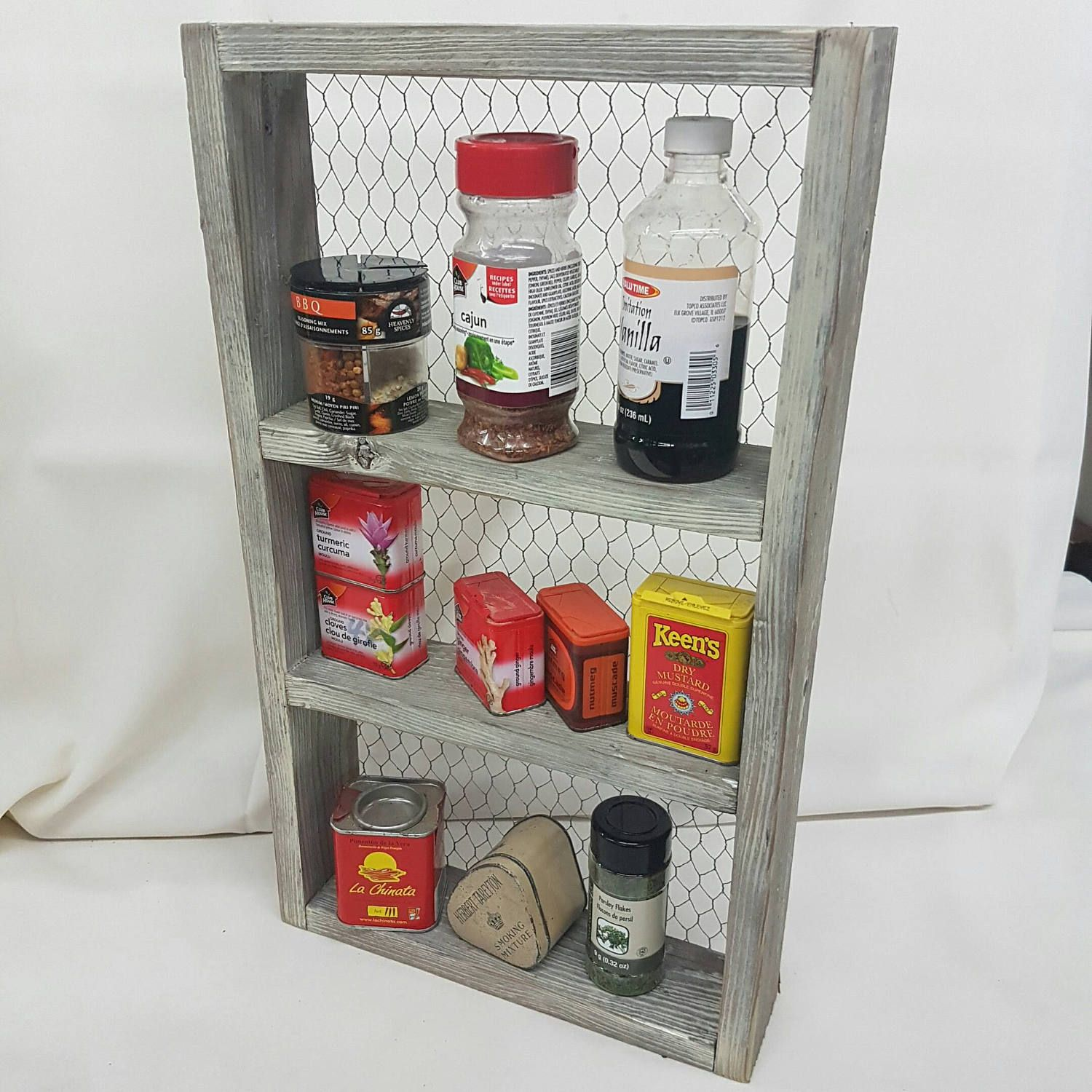 Woodworking Plans For Kitchen Spice Rack: Country Kitchen Spice Rack Shelf