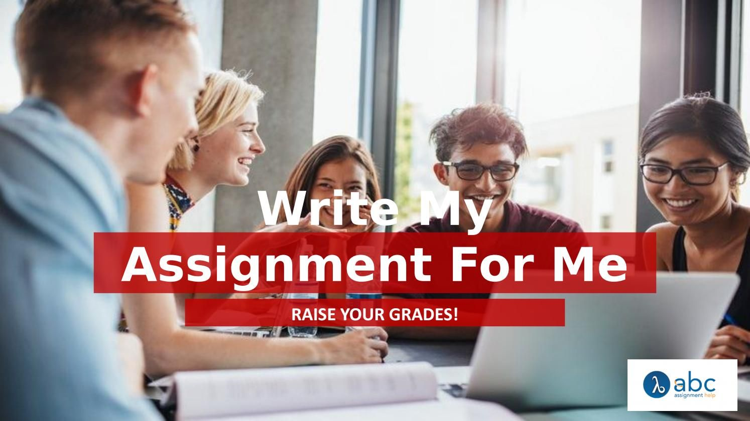 write assignment for me