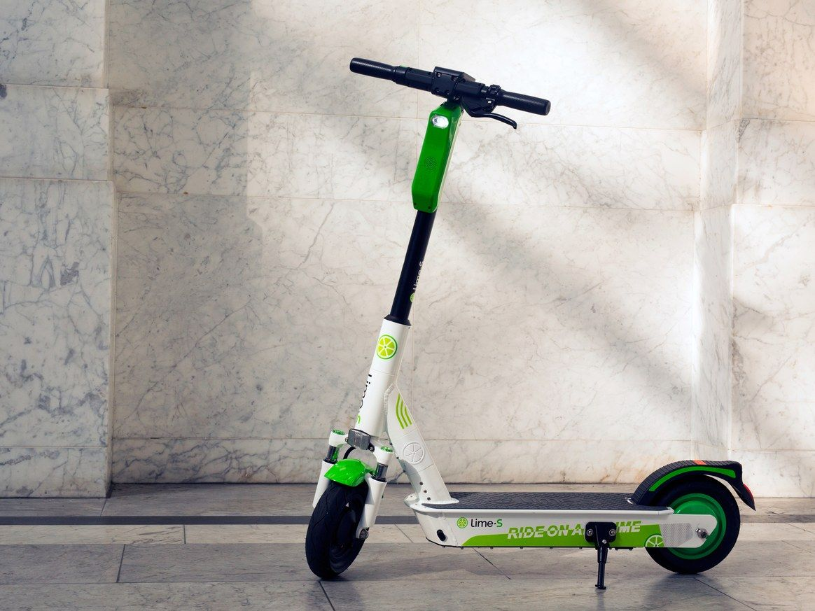 Lime S New Scooter Is Hardier Heavier And Built For Life On The