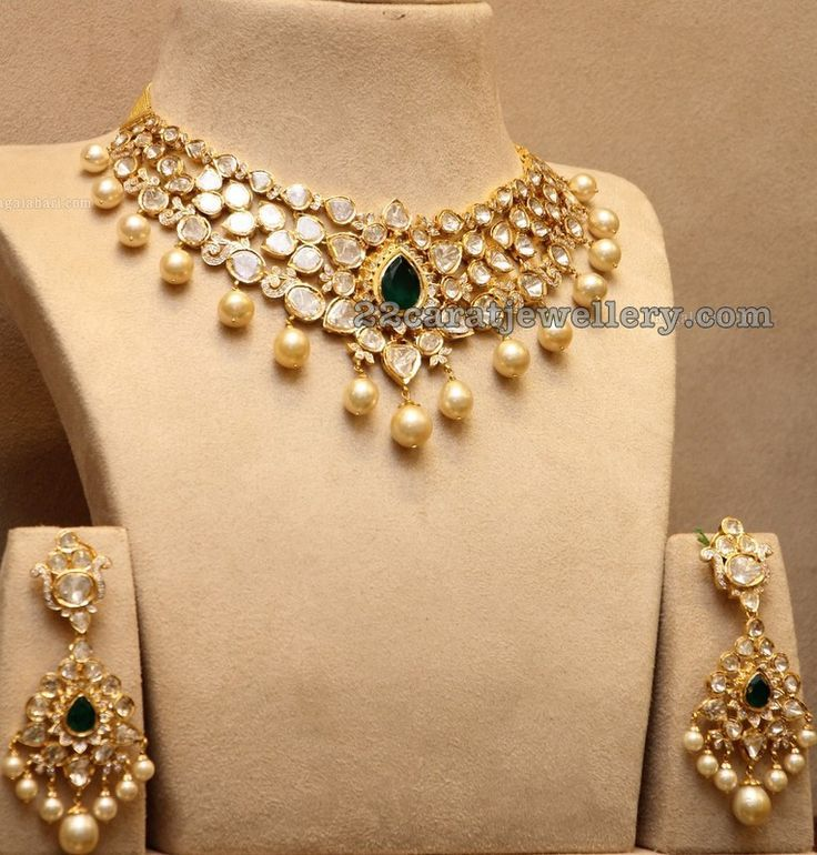 Pachi Necklace with Earrings fashion jewelry designers engagement