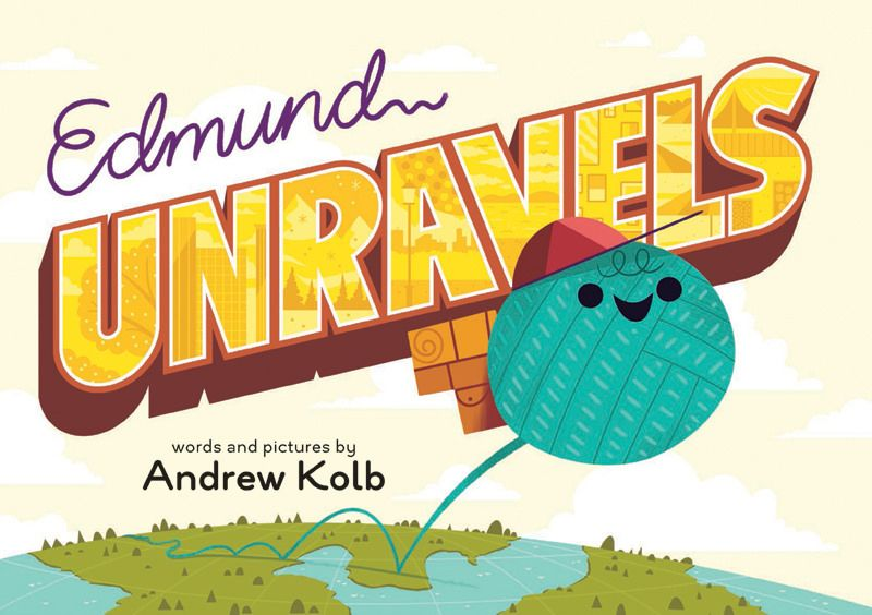 https://flic.kr/p/oYJyeG | Edmund Unravels | Hey I have a picture book coming out soon! Edmund Unravels is available for pre-order where ever cool books are sold. Check it out!