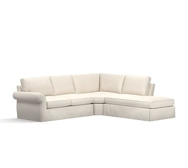 Pearce Sectional Down Sunbrella Prfmc Boss Tweed L 3pc Wdg