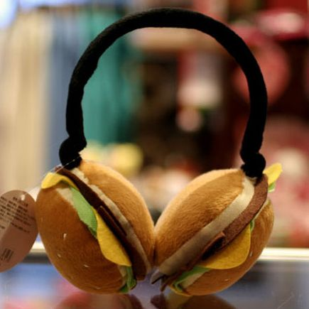 Burger Earmuffs $9.95