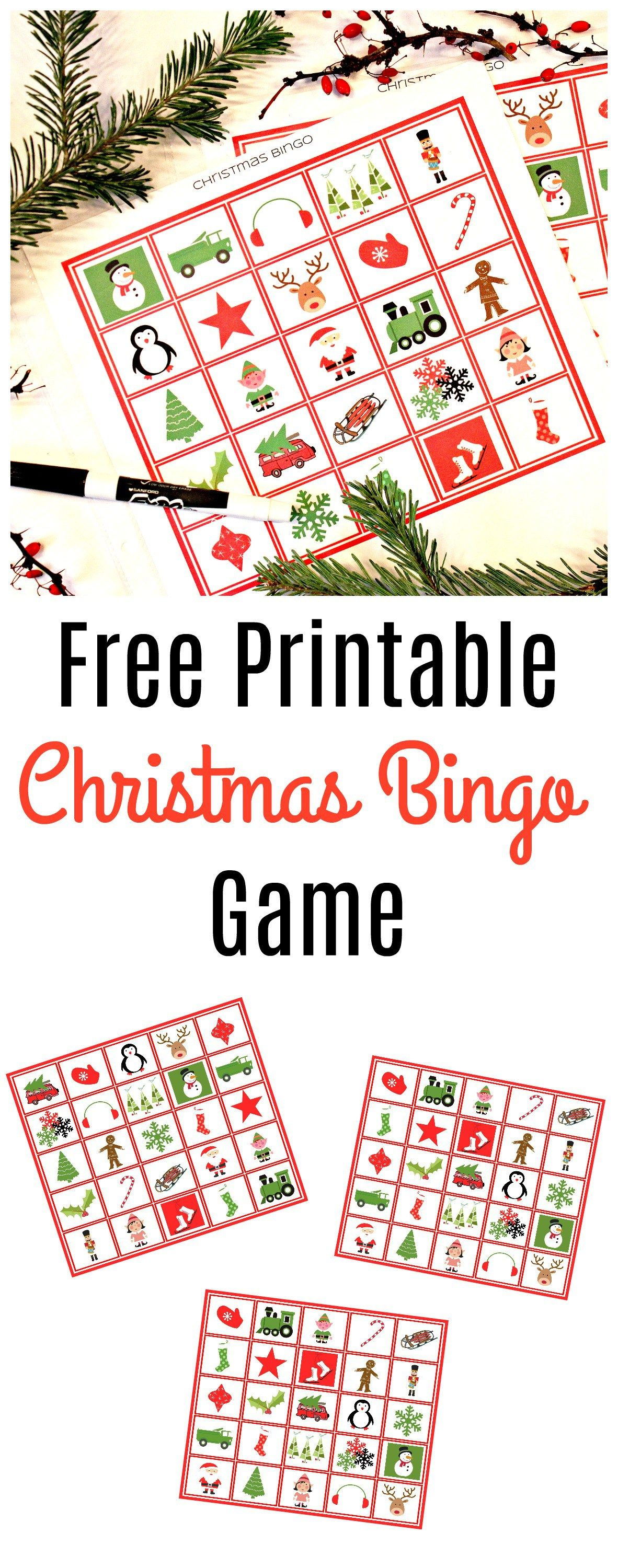 8 Pack Christmas Printables For Kids With Images