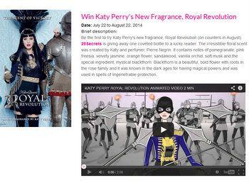 29Secrets Win Katy Perrys New Fragrance Contest