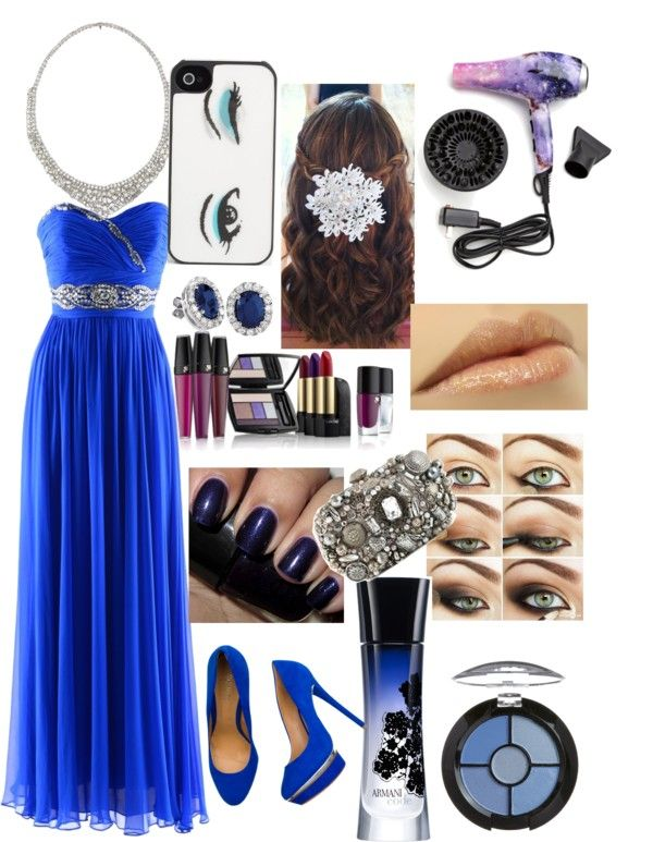 """""""Prom Night."""" by lauren-spoon ❤ liked on Polyvore"""
