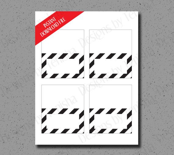 Place cards instant download stripes diy printable seating place cards instant download stripes diy printable seating cards birthday bookmarktalkfo Image collections