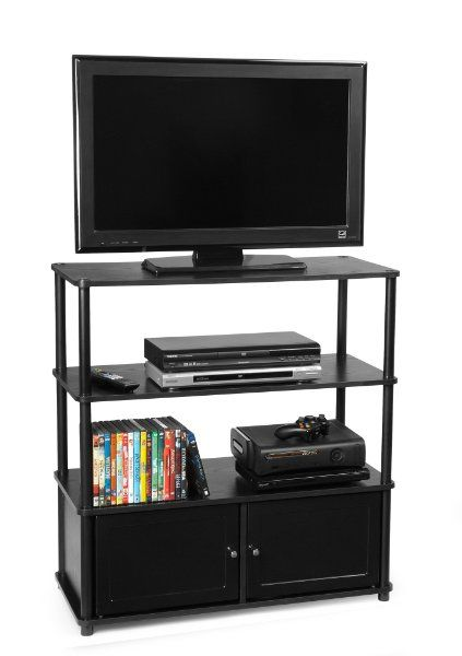Convenience Concepts 151239 Highboy Tv Stand For Flat Panel Tv S Up