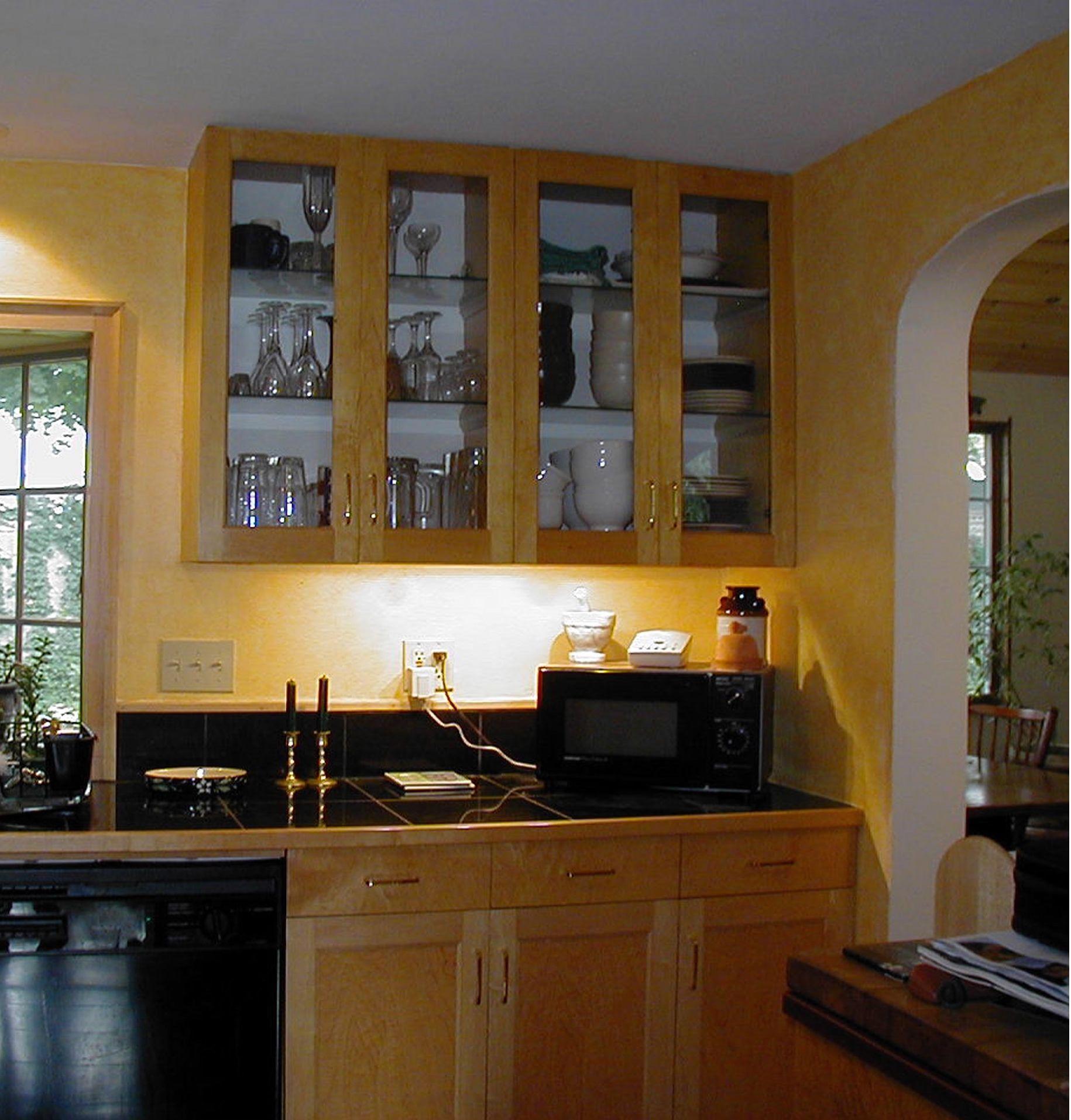 Glue Chip Glass Kitchen Cabinets Kitchen Cabinets