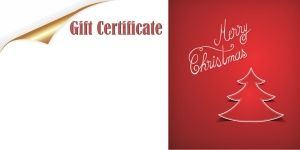 Christmas Gift Certificate Templates With A Certificate Maker That - 100 gift certificate template