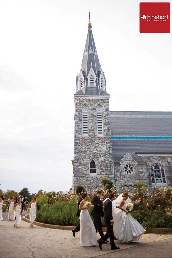 Saint Thomas Of Villanova Chapel Wedding Villanova Wedding