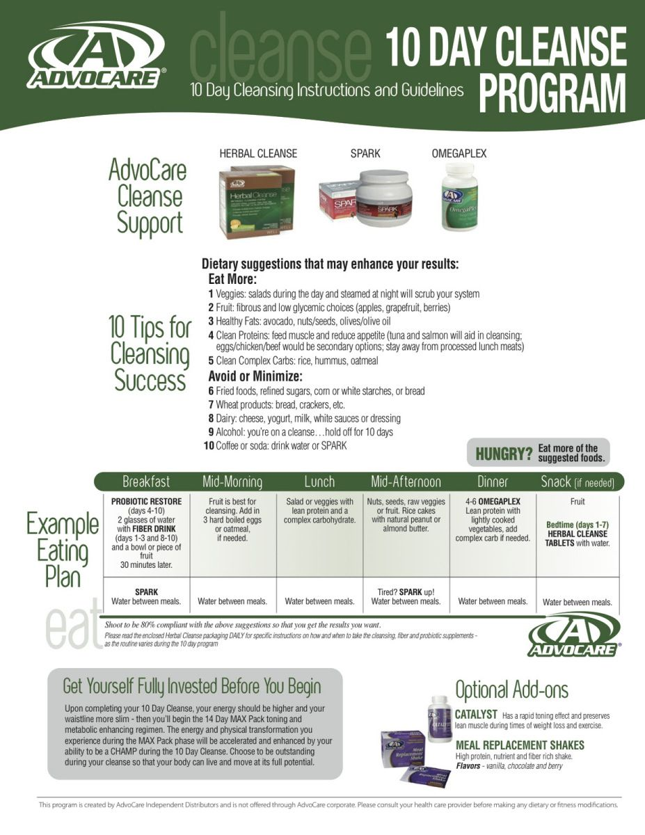 Advocare day cleanse instructions pdf remember that the focus of challenge if you are doing is to rid body waste and toxins also rh pinterest