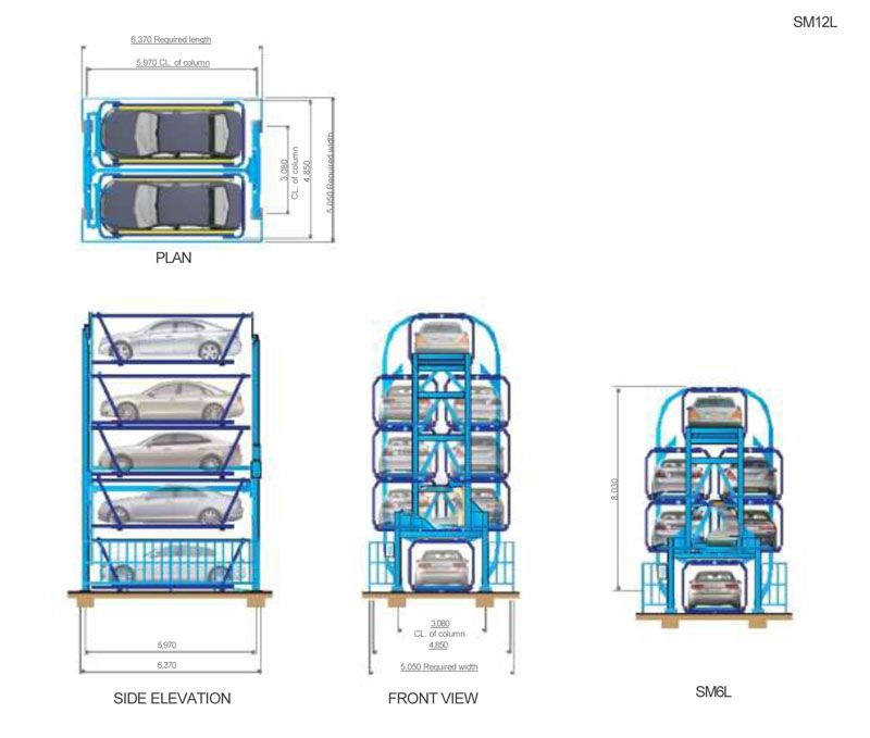 Rotary Smart Parking System 7 Parking Solutions Car Parking Engineering Technology