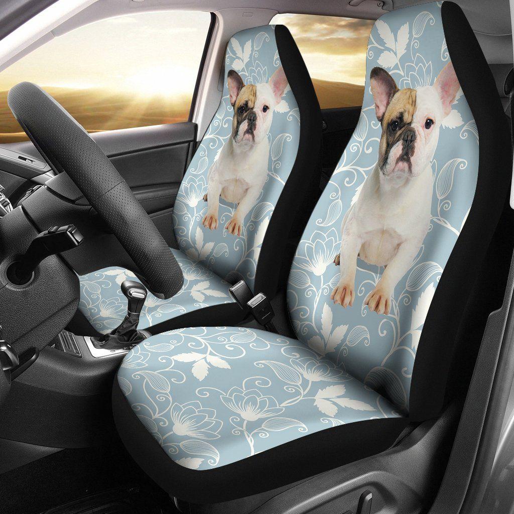 Strange Cute French Bulldog Car Seat Covers French Bulldog Car Machost Co Dining Chair Design Ideas Machostcouk