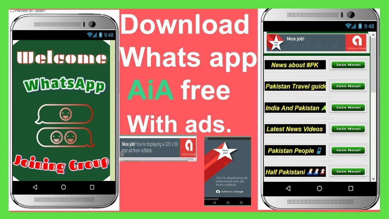 Whats app joining group AiA file download whatsapp group
