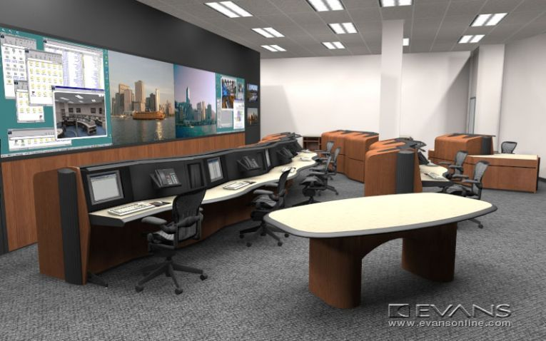 Evans Consoles offers global services for control room design ...