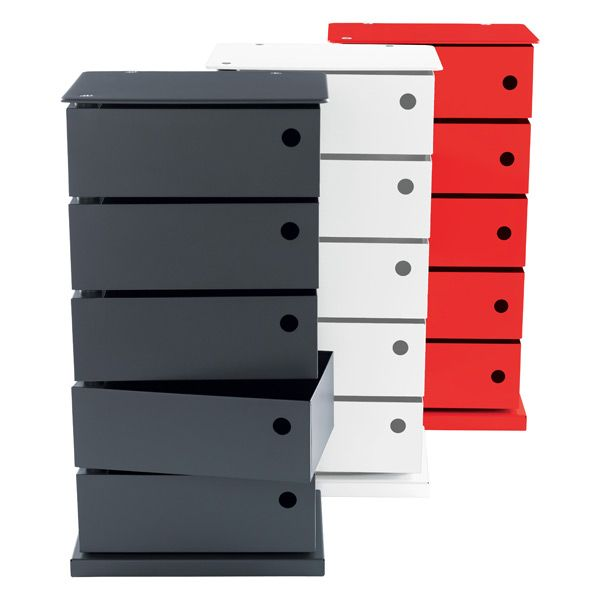 Whether You Use Our 5 Bin Storage Tower In An Office, Craft Room,