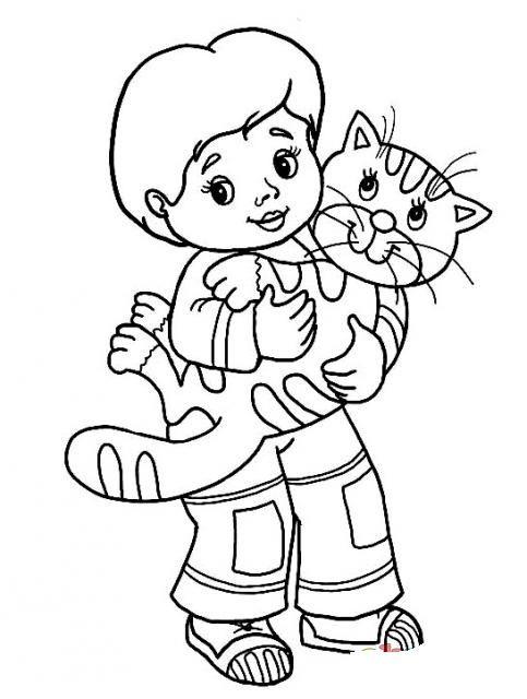Hayvanları Koruma Günü Boyama Sayfalari 2 Preschool Art