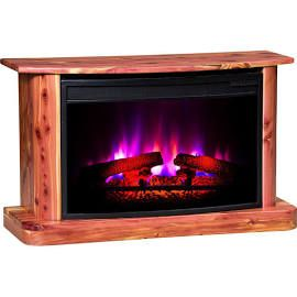Cozy Glow 108ac Electric Fireplace Cedar Fireplaces Cedar