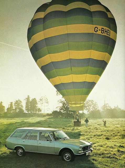 1981 Peugeot 504 Estate Is The Ballon Included My Photography