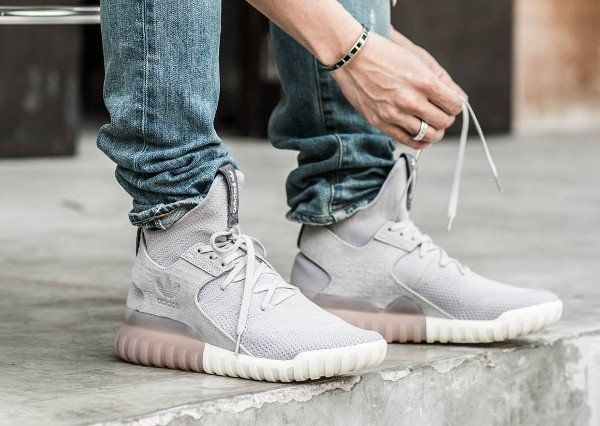 d86345527931 Adidas Tubular X Primeknit  Clear Granite   Shadow Green  post image ...
