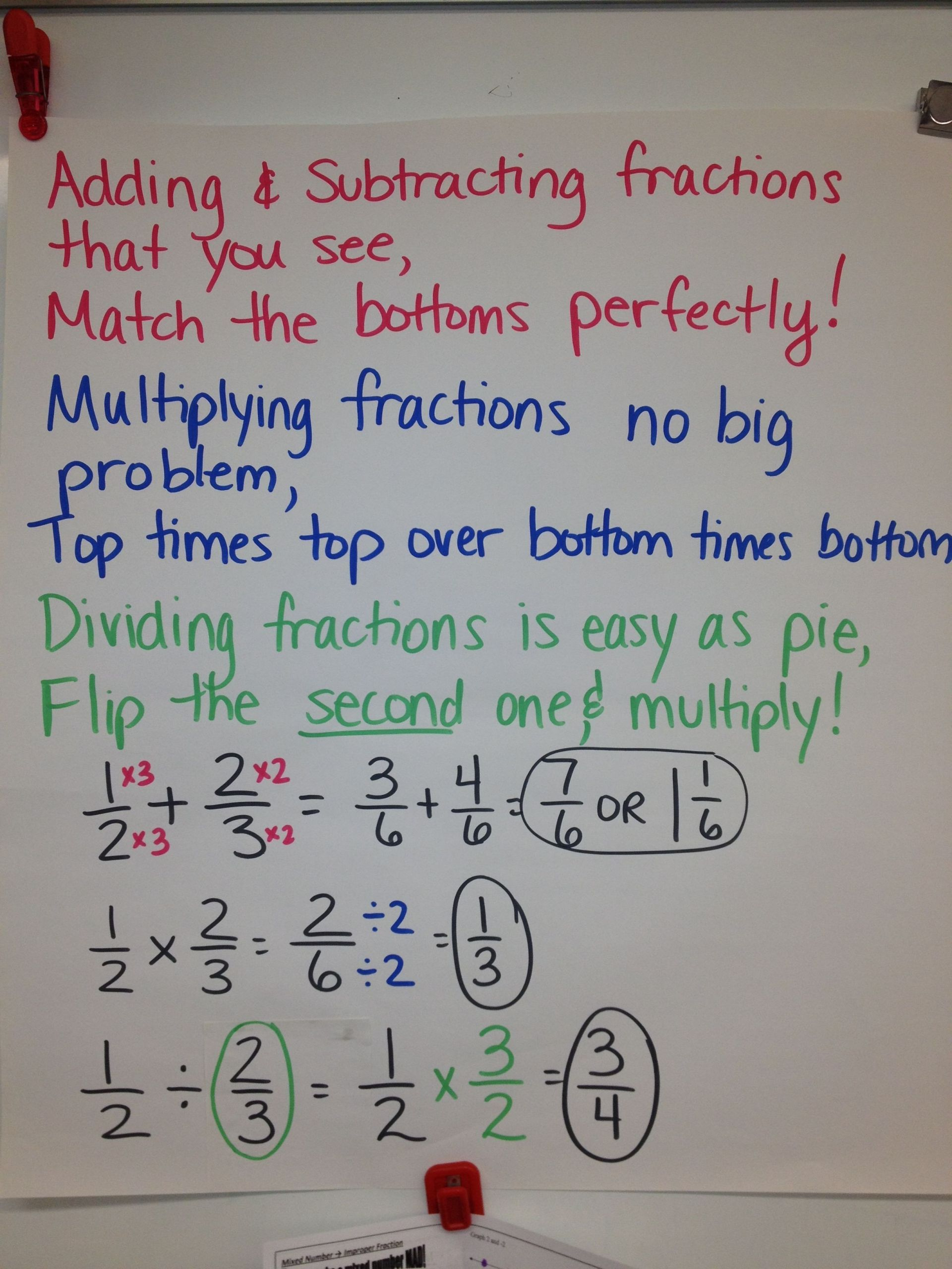 3 Worksheet Cross Multiplication Fractions Fifth Grade In