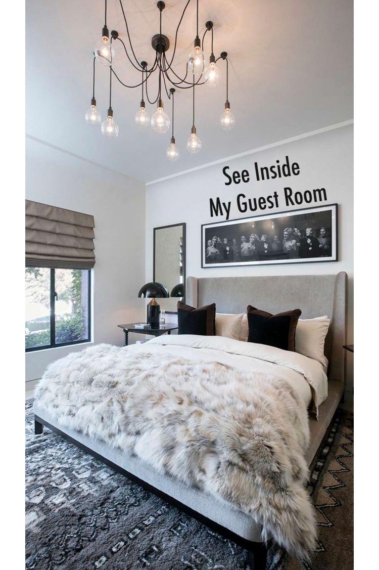 grey bedroom kourtney kardashian home decor in 2018 pinterest rh pinterest com kourtney kardashian bedroom decor