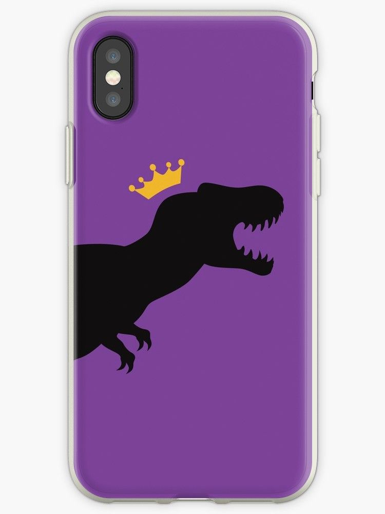 promo code 40340 2ecc9 T-Rex King   iPhone Case & Cover   Redbubble BEST SELLERS   Iphone ...