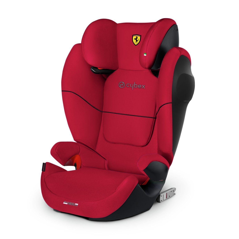 Cybex Solution M Fix Sl Scuderia Ferrari Group 2 3 Car Seat In 2020 Car Seats Ferrari Racing Baby