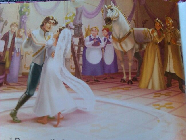 Lovely Wedding Scene From Tangled Ever After Story Book Wedding Scene Princess Zelda Tangled