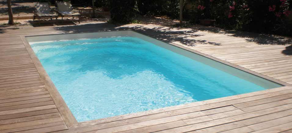 Terrasse de #piscine en #bois Piscines de rêve Pinterest