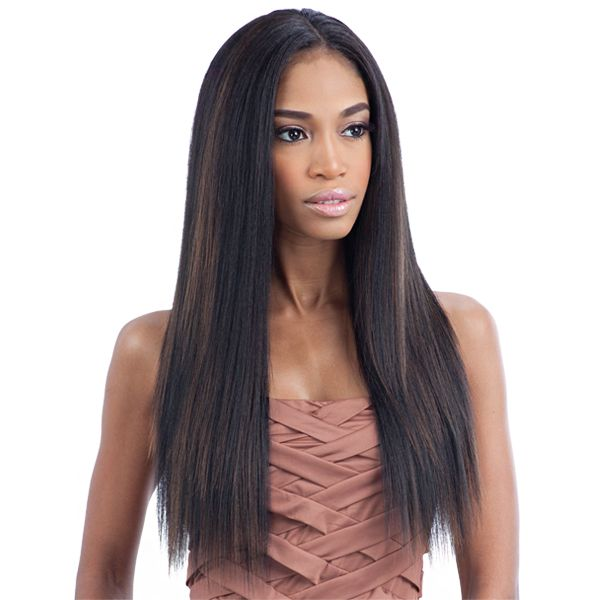 Milky Way Que Human Hair Blend Weave Malaysian Ironed Texture