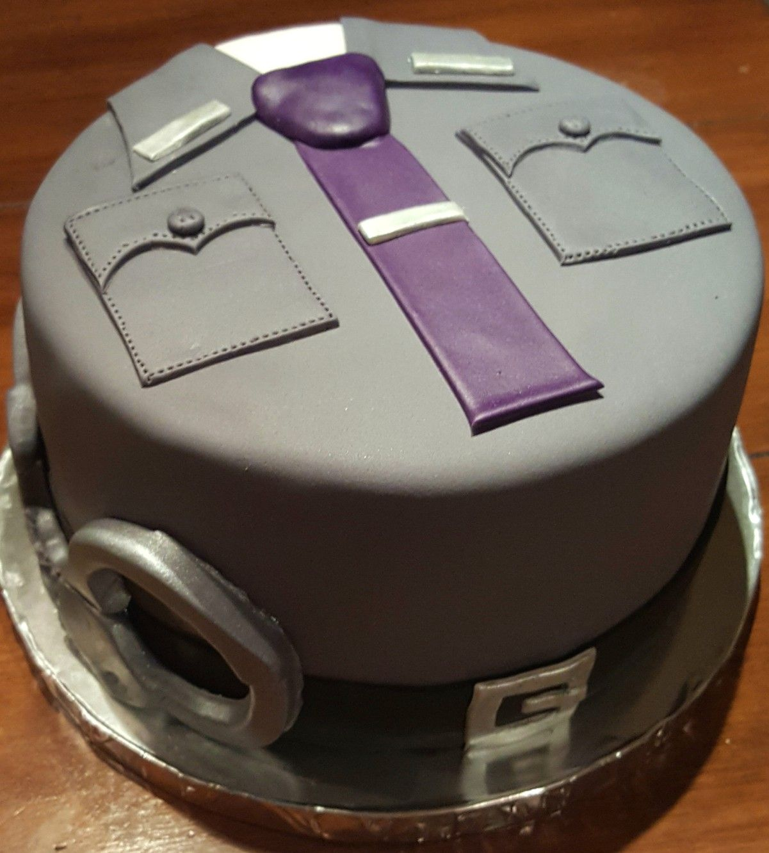 Ny State Trooper Cake | Cake/Cupcake Decorating in 2019