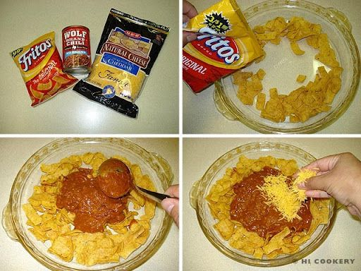 Frito Pie With Wolf Brand Chili Food Yummy Food Wolf Brand Chili
