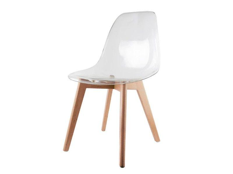 Chaise scandinave transparente - Vente de THE CONCEPT FACTORY