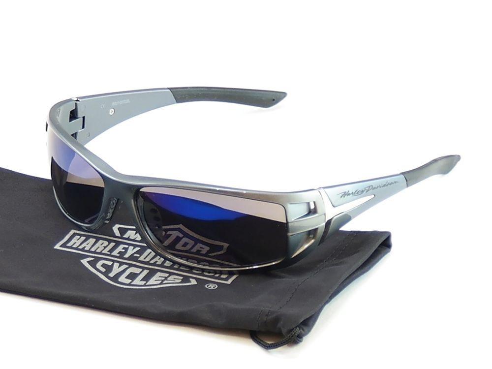 e1199f79bd Harley Davidson Sunglasses Gray Plastic HDS 615 BLGRY-3F China Made  65-15-115  HarleyDavidson  Oval