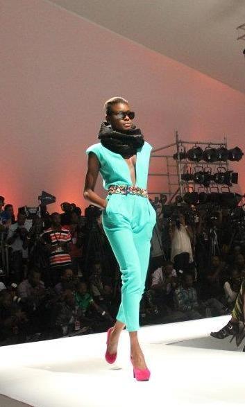 Nigerian Fashion >> Aminat Seun, strutting her stuff. Love ...