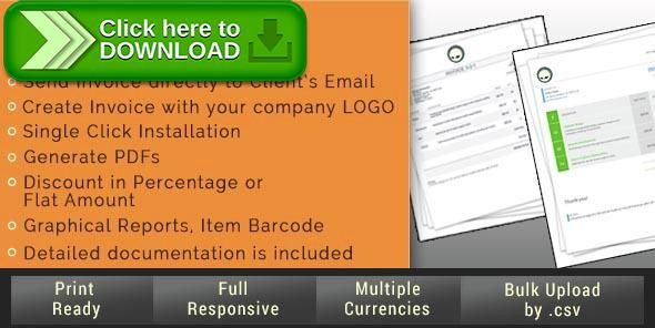 Free nulled Smart Invoice download - invoice simple