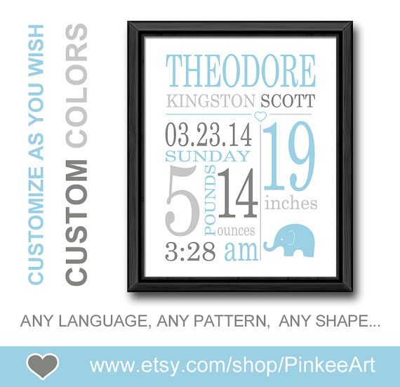 Personalized birth details gift for new parents birth print baby personalized birth details gift for new parents birth print baby stats art new baby decor birth negle Image collections