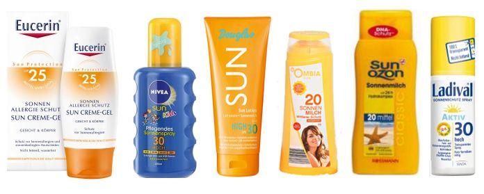 bester Sonnenschutz günstig