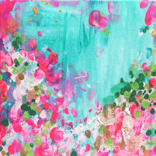 May Garden by Christine Lindstrom on Artfully Walls