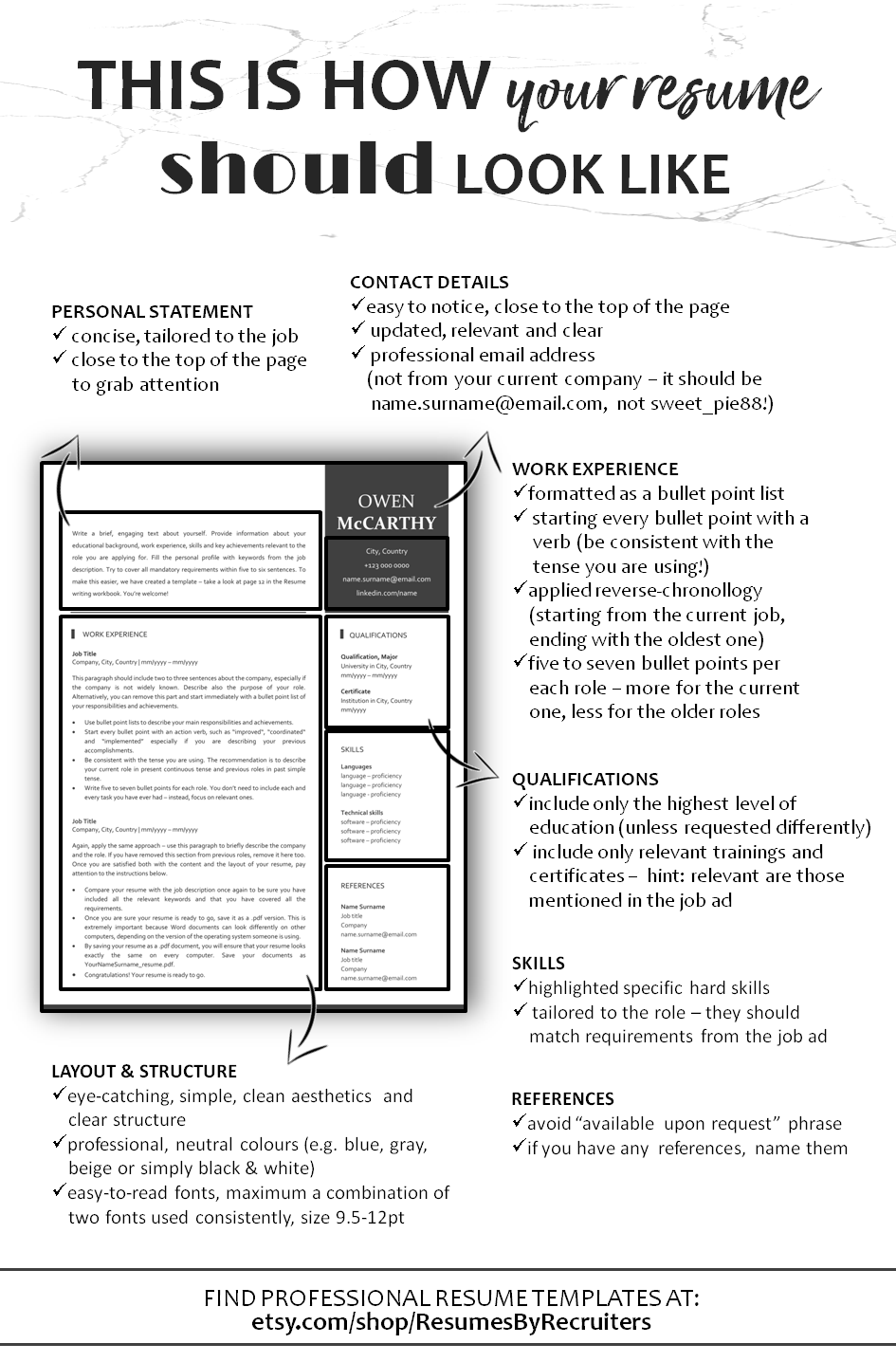 The Most Important Cv Writing Tips In One Place Find This And Many Other Professional Resume Templates At Cv Writing Tips Resume Writing Tips Teaching Resume