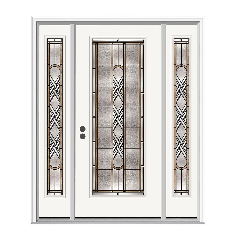 jeld wen 36 in x 80 in ascot full lite primed premium steel